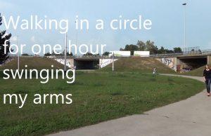 Walking in a circle